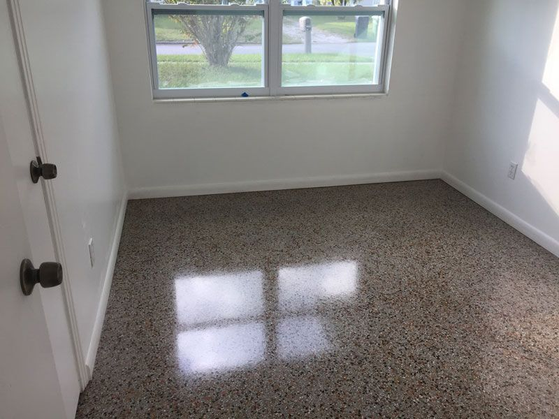 Terrazzo Floor Restoration And Marble Polishing In The Tampa